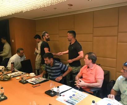 PICS: Kohli, Dhoni, Kumble and Dravid discuss India's roadmap