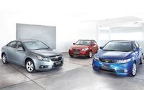 Group Test: Chevrolet Cruze vs Hyundai Avante vs Kia Cerato Forte
