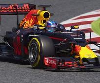Verstappen fastest in Catalunya test