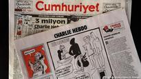 Turkey jails journalists for reprinting Charlie Hebdo Prophet Mohammed cartoons