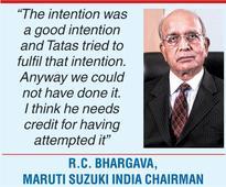 Maruti boss lauds Nano vision