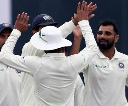 3rd Test: Sri Lanka stagger as they chase 410 for victory