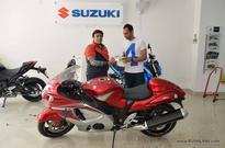 Suzuki superbike showroom comes to Patel Nagar in Delhi