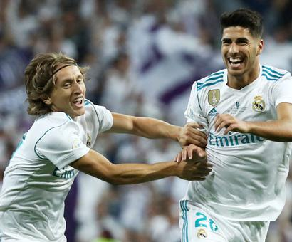 PHOTOS: How Madrid crushed Barcelona to win Super Cup