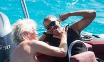Never seen before: Obama kitesurfing