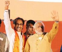 Sena hits backs, says BJP can court NCP