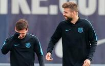 Barcelona trying to stay upbeat going into Atletico game