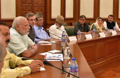 Development alone not a solution to Kashmir crisis, admits PM Modi