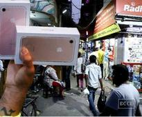 Delhi's tech crazy flock to Gaffar Market to bargain for iPhone 7