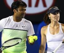 Paes, Bopanna advance in Aussie Open mixed doubles
