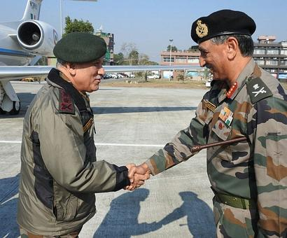 Why Army chief visited the Eastern Command