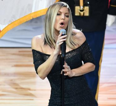 Bizarre! Fergie sexes up National Anthem at NBA All-Star Game