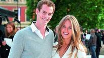 Andy Murray basks in the Mallorca sun