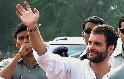 Freeze Congress's poll symbol over Rahul's 'hand' remark: BJP to EC