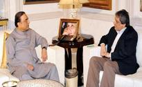 Governor Sindh calls on President Zardari