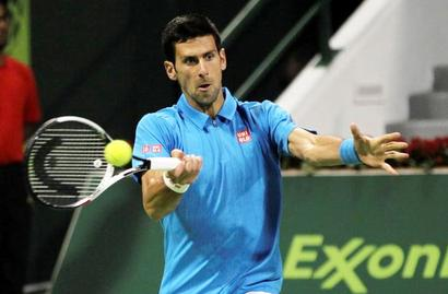 Djokovic recovers from slow start to begin year with win in Doha