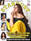 Jacqueline graces the cover of the latest issue of Stardust!