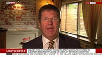 Ukip MEP Mike Hookem describes scuffle with Steven Woolfe as handbags at dawn, girl on girl
