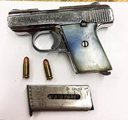 NYPD pic of the day: Recovering a Phoenix Arms pistol