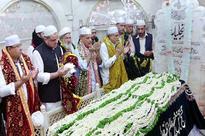 CM attends Ghussal ceremony of Mazar Hazrat Data Ganj Bakhsh (RA)