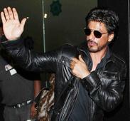 Shah Rukh`s love for trains!