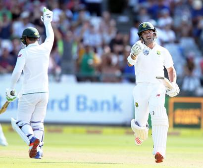 Elgar century leads South Africa fight back