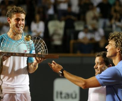 Tennis Roundup: Schwartzman wins Rio Open; Khachanov upsets Pouille