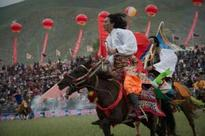How the Tibetans gather for horse festival