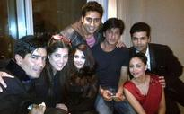 New friends on the block: Shah Rukh Khan, Aishwarya Rai Bachchan live it up
