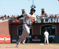 Orioles rally from six-run deficit to beat Giants on the road.