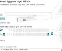 First images of EgyptAir debris released