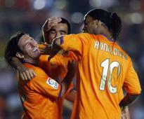 Deco claims Ronaldinho was better than both Lionel Messi and Cristiano Ronaldo