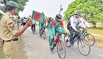 Indo-Bangladesh cycling expedition flagged off
