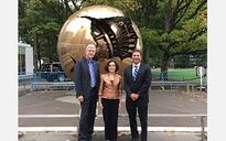 NSF director attends international brain collaboration event at UN