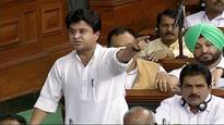 Jyotiraditya Scindia moves privilege motion against 2 BJP MPs for 'false and derogatory' remarks
