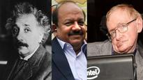 A brief incorrect history of time: Vardhan mistakenly claims Hawking said Vedas had theory greater than Einstein's
