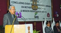 Mother and Child Health A, Mission Indradhanush awareness campaign concludes