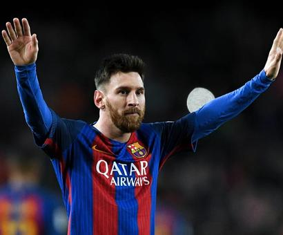 PHOTOS: Messi magic helps Barcleona cut deficit to Real