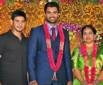 PIX: Mahesh Babu at a wedding
