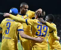 Serie A: Juventus register narrow win over Cagliari; Napoli see off Verona to stay on top of table
