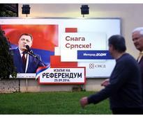 Bosnia's Serb Republic holds controversial referendum