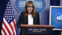 Allison Janney Reprises West Wing Character During Surprise White House Press Briefing Appearance