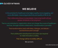 Oliver Wyman Health Innovation Center Announces New Leaders Alliance