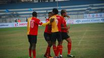 I-League: East Bengal pummel Minerva 5-0 to displace Mohun Bagan from pole position