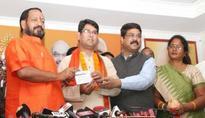 Despondent BJD Leader Siddharth Singh Joins BJP