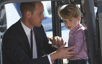Prince George left 'very envious' after Duke of Cambridge got to drive a digger