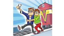 Youth electrocuted while taking selfie atop train