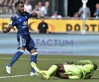 Lacazette hat-trick powers Lyon past Nancy in Ligue 1