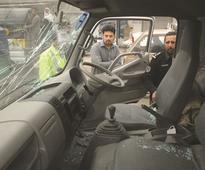 Bomb targeting paramilitary truck kills three in Peshawar