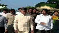 AP CM Chandrababu Naidu holds surprise inspection at Vijayawada